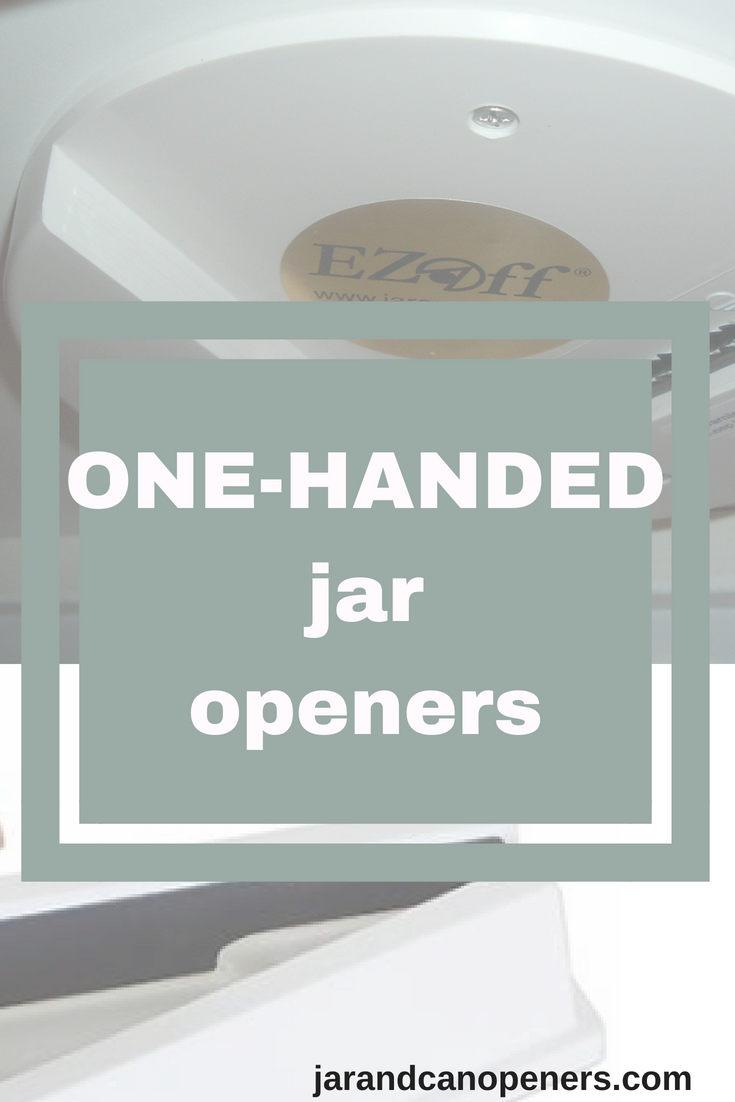jar openers that can be operated by one hand