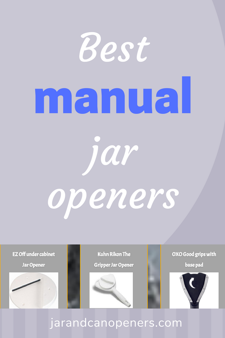 Best manual jar openers