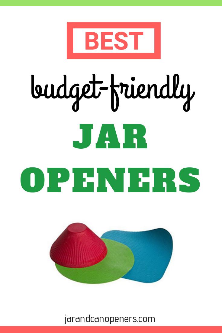 Best budget friendly jar openers