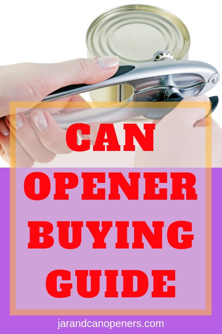 can opener buying guide