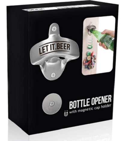 wall mounted beer bottle opener
